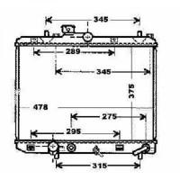 Radiateur, refroidissement du moteur boite auto de 08 à >> - OEM : 93194258