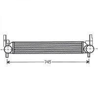 Intercooler, échangeur Behr de 03 à >> - OEM : 6R0145805