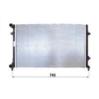 Radiateur, refroidissement du moteur 650 x 415 x 23 de 03 à 08 - OEM : 1K0121251Q