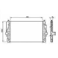 Intercooler, échangeur de 01 à 1- - OEM : 7D0145805