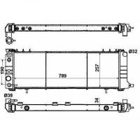 Radiateur, refroidissement du moteur 787 x 284 pour boite auto de 90 à 98 - OEM : 52080115AC