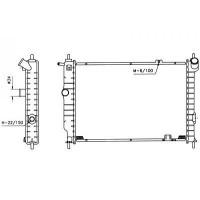 Radiateur, refroidissement du moteur 538 x 371 x 32 de 91 à 97 - OEM : 90443465