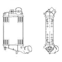 Intercooler, échangeur de 01 à >> - OEM : 51715999