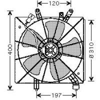 Ventilateur refroidissement du moteur sans climatisation de 01 à 05 - OEM : 19030PAAA01