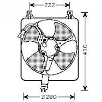 Ventilateur condenseur de climatisation de 93 à 98 - OEM : 38616PT3A03