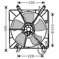 Ventilateur refroidissement du moteur version : Denso de 93 à 98 - OEM : 19030PT0003