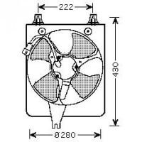 Ventilateur condenseur de climatisation de 98 à 02 - OEM : 38616PAAA01
