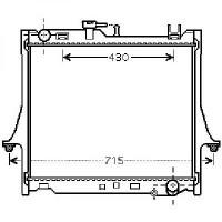 Radiateur, refroidissement du moteur 475 x 990 x 16 de 02 à 05 - OEM : 8973333512