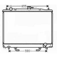Radiateur, refroidissement du moteur 525 x 705 de 00 à >> - OEM : MR968289