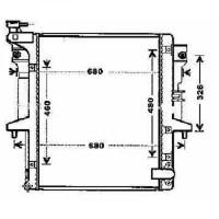 Radiateur, refroidissement du moteur 525 x 635 x 27 de 06 à 12 - OEM : MN135032