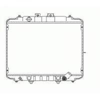 Radiateur, refroidissement du moteur 400 x 590 de 86 à 97 - OEM : MB605252