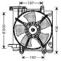 Ventilateur refroidissement du moteur de 99 à 03 - OEM : 45121AE000