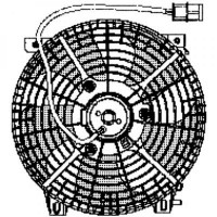 Ventilateur refroidissement du moteur de 98 à 12