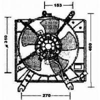 Ventilateur refroidissement du moteur de 00 à 05 - OEM : OK30B15025B
