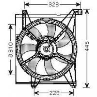 Ventilateur refroidissement du moteur de 04 à 09 - OEM : 253862F000