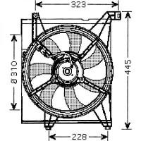 Ventilateur refroidissement du moteur de 04 à 09 - OEM : 25380-2F1OO