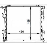 Radiateur, refroidissement du moteur 450 x 455 de 06 à >> - OEM : 253101H610