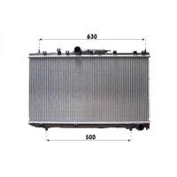 Radiateur, refroidissement du moteur 698 x 375 x 26 de 99 à >> - OEM : 164000G010