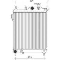 Radiateur, refroidissement du moteur 373 x 320 de 02 à >> - OEM : 253101C200