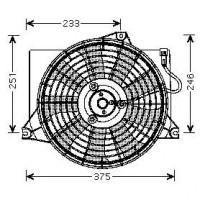 Ventilateur refroidissement du moteur boite manuelle de 01 à 05 - OEM : 9778617000