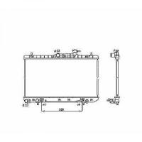 Radiateur, refroidissement du moteur 335 x 643 de 00 à 06 - OEM : 2531025100