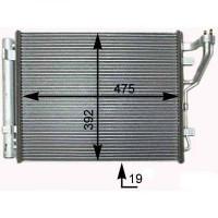 Radiateur, refroidissement du moteur boite manuelle de 07 à >> - OEM : 976062L600
