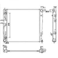 Radiateur, refroidissement du moteur 480 x 485 de 2010 à >>