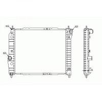 Radiateur, refroidissement du moteur boite manuelle de 02 à 04 - OEM : P96816481