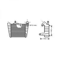 Intercooler, échangeur de 01 à >> - OEM : 6Q0145804A