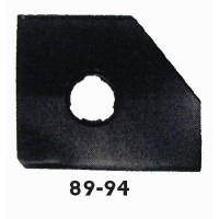 Panneau latéral gauche de 89 à 94