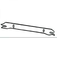 Panneau arrière tôle d'extrémité de 92 à >>