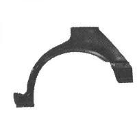Panneau latéral arrière gauche bord de roue de 89 à 96