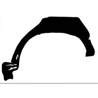 Panneau latéral arrière droit bord de roue de 88 à 96