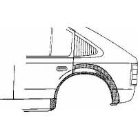 Panneau latéral arrière gauche bord de roue de 98 à 03