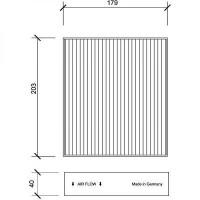 Filtre à air d'habitacle charbon actif - OEM : MR 95 8017