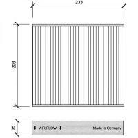 Filtre à air d'habitacle charbon actif - OEM : 30780377