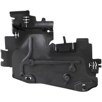 Guidage d' air face avant gauche PEUGEOT 207 04/06 => 00007104CN