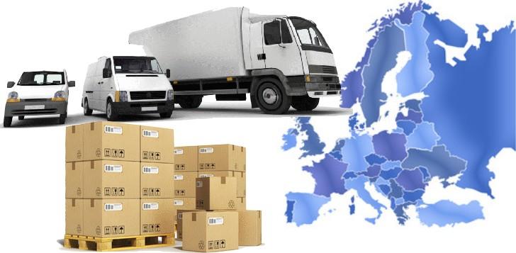 livraison de pièces carrosserie en europe